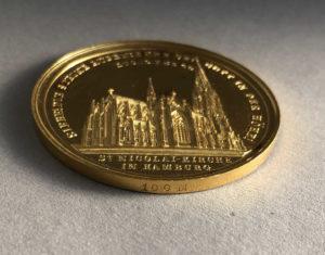 Bankportugalöser zu 100 M Hamburg, Neuweihung von St. Nikolai 24. September 1863