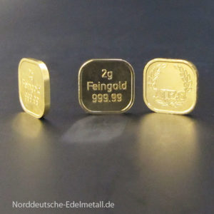 Goldbarren-Superfeingold-99999 Norddeutsche