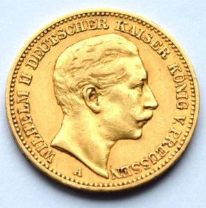 Fälschung Deutsches-Reich 1892-20-Reichsmark